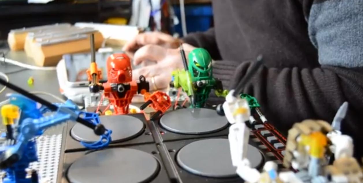 Se i musicisti sono… Lego: la Toa Mata Band