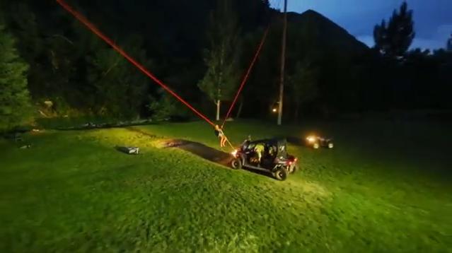 Mountain Dew e la catapulta umana